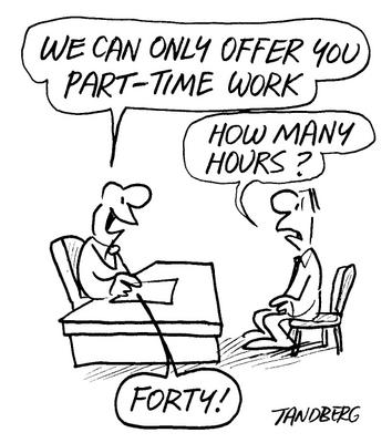 "Underemployed Economics ""Part-time..."